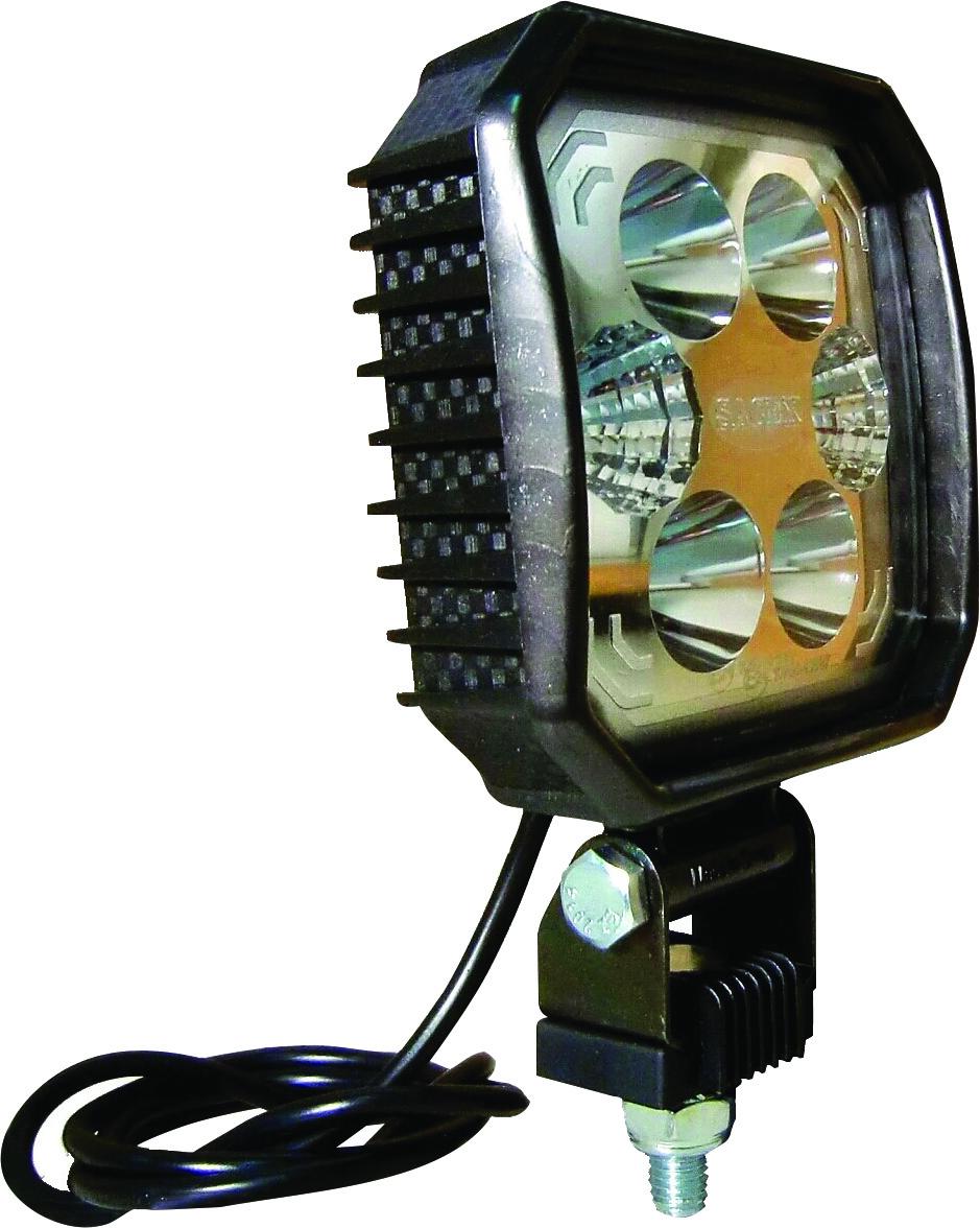 Phare de travail LED carbone